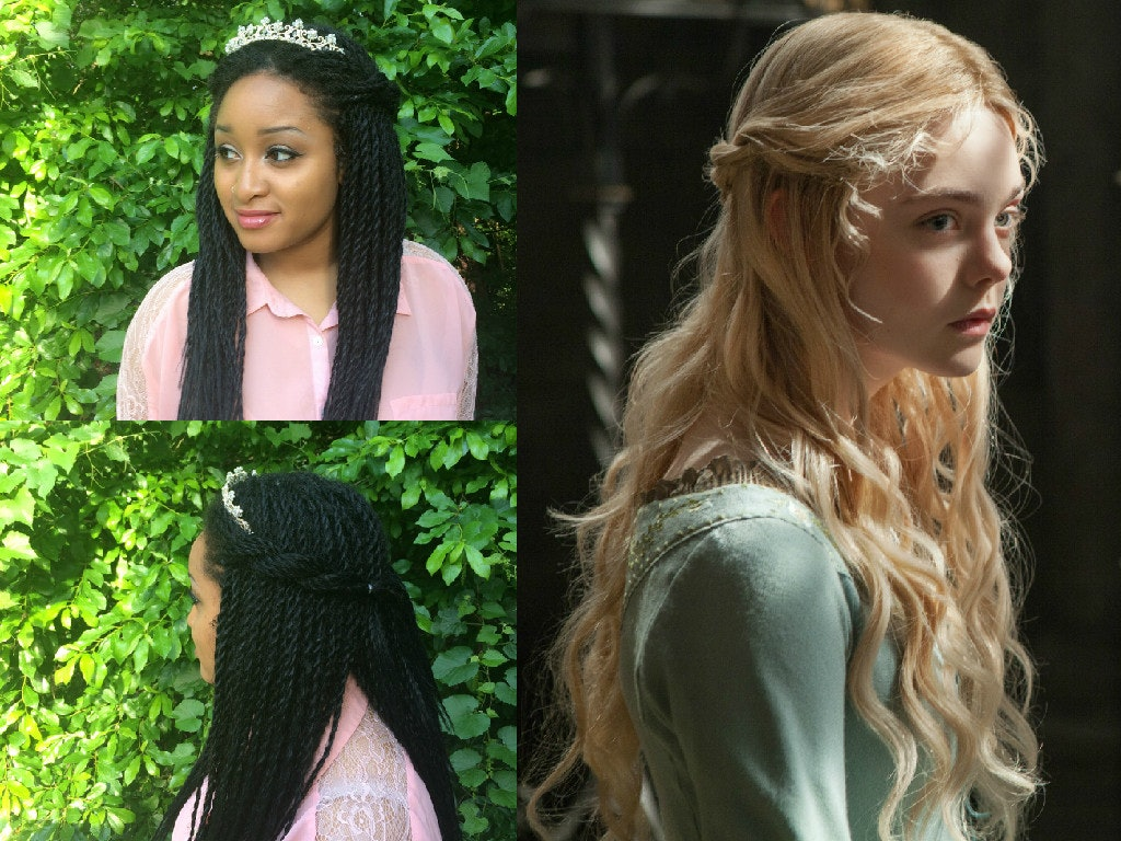 I recreated disney princess hairstyles with senegalese twists i recreated disney princess hairstyles with senegalese twists because girls with braids can have some fairytale fun too baditri Gallery