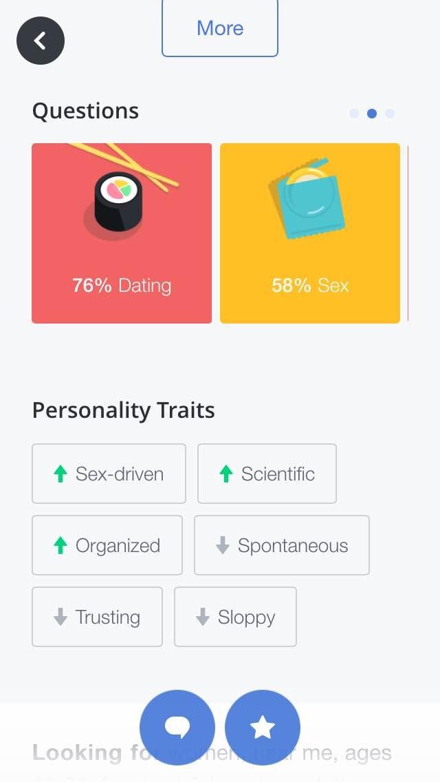 Okcupid personality