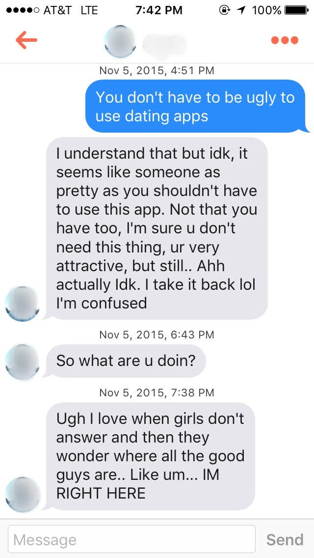 I Swiped Right On Everyone On Tinder For A Day, And Here's What Happened