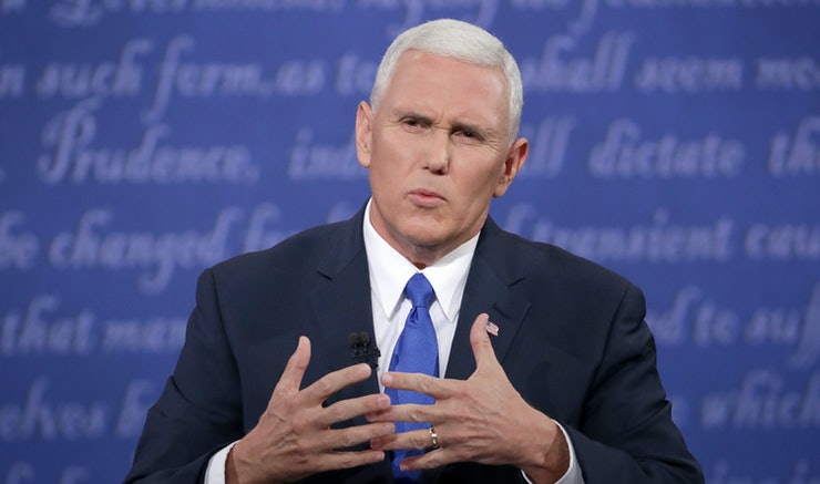 """Mike Pence's """"Criminal Aliens"""" Comment During The Debate"""