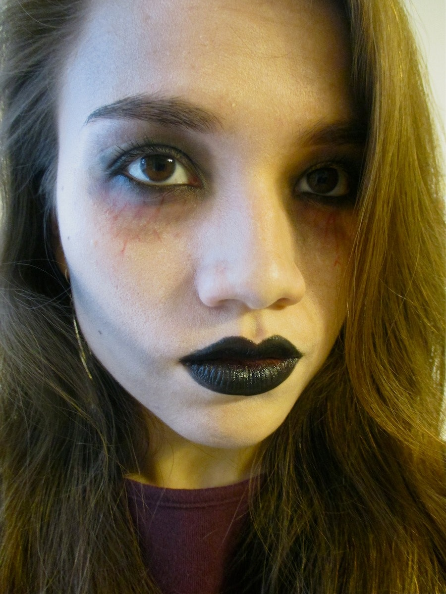 Emejing Halloween Zombie Makeup Easy Ideas - harrop.us - harrop.us