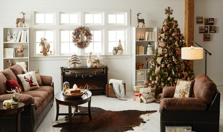 Holiday Decor That Will Transform Your Living Room Into A Cozy Wonderland
