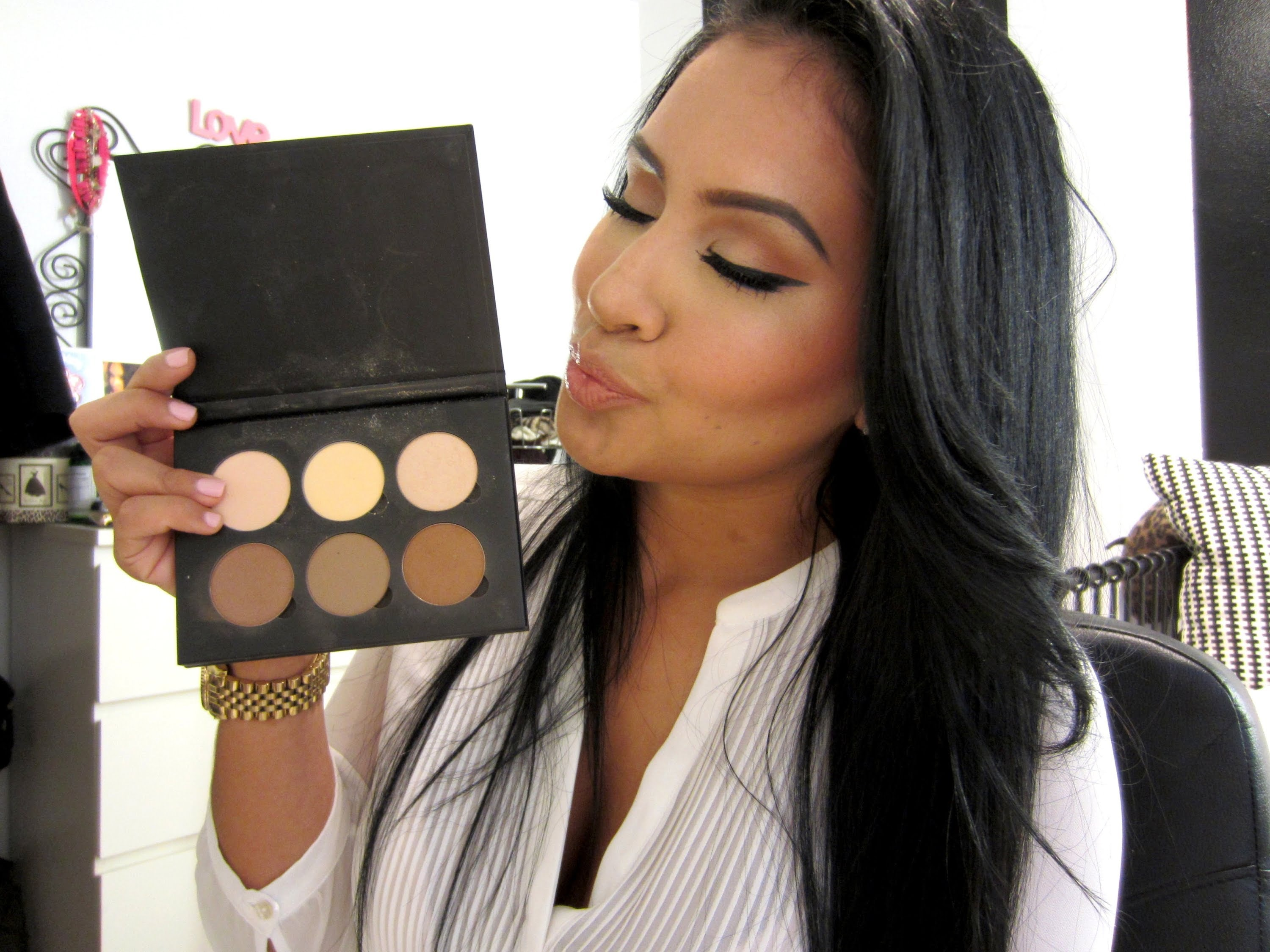 How To Use The Anastasia Contouring Palette To Achieve The Look You're  Going For €� Videos