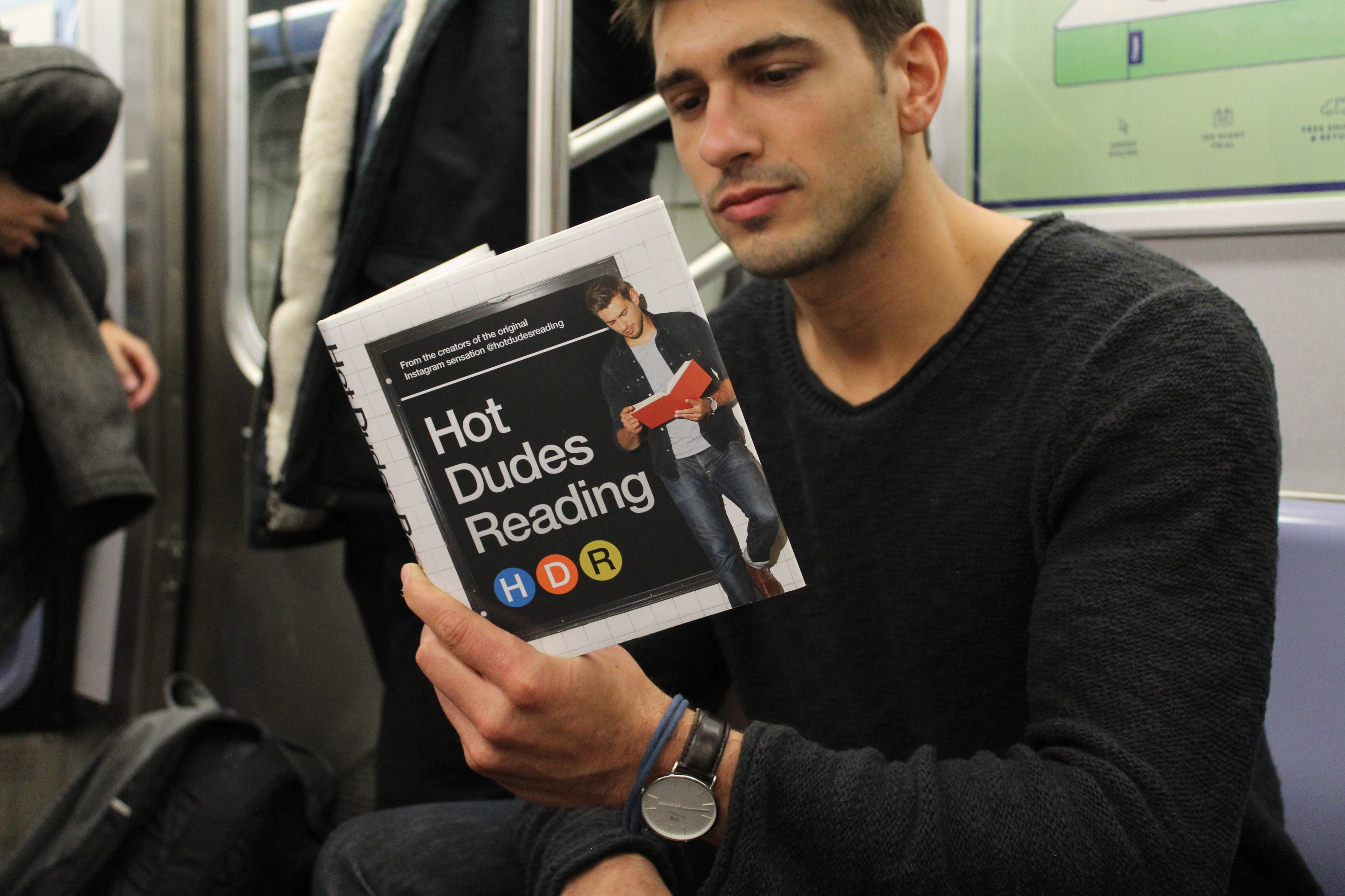 Your Favorite Instagram Feed, Hot Dudes Reading, Is Now A Book ...