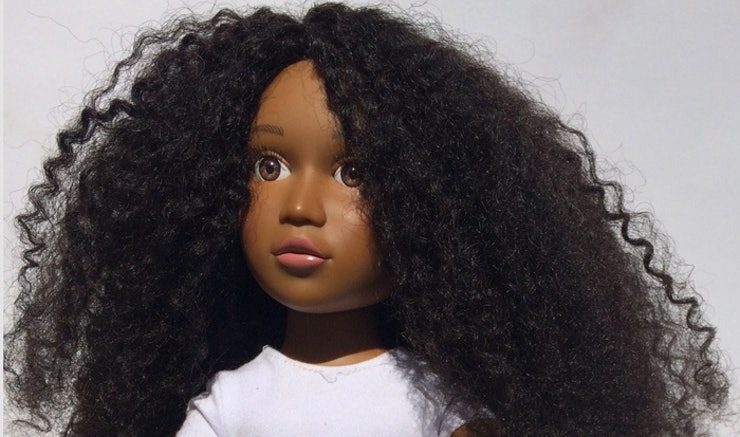 Angelica Doll Natural Hair