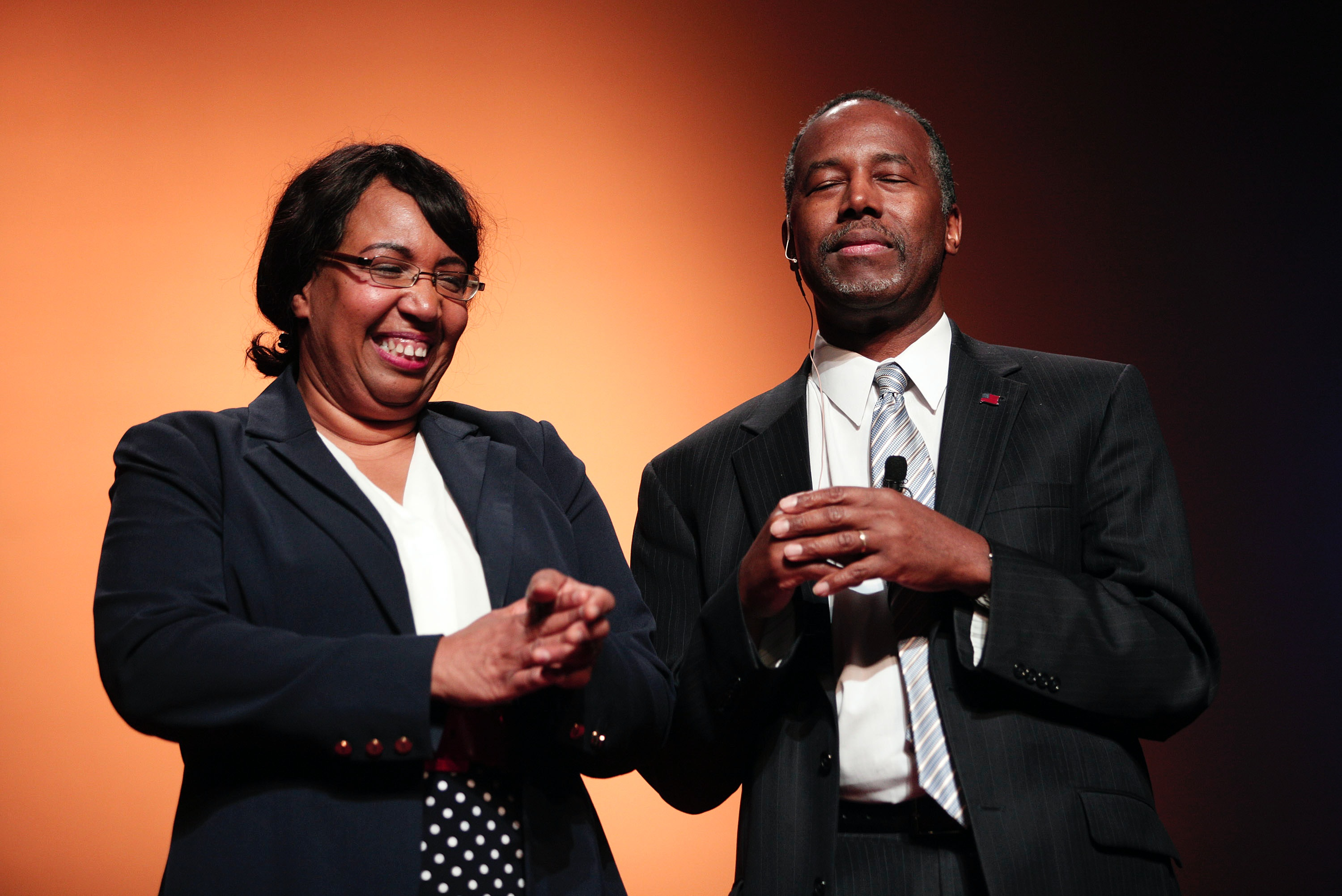 Image result for ben carson wife