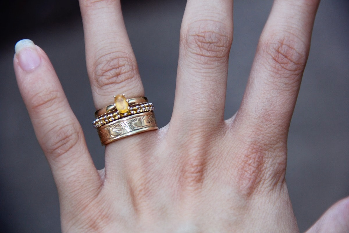 Nontraditional Engagement & Wedding Ring Sets Are Worth Considering, Even  If You're Big On The Classics