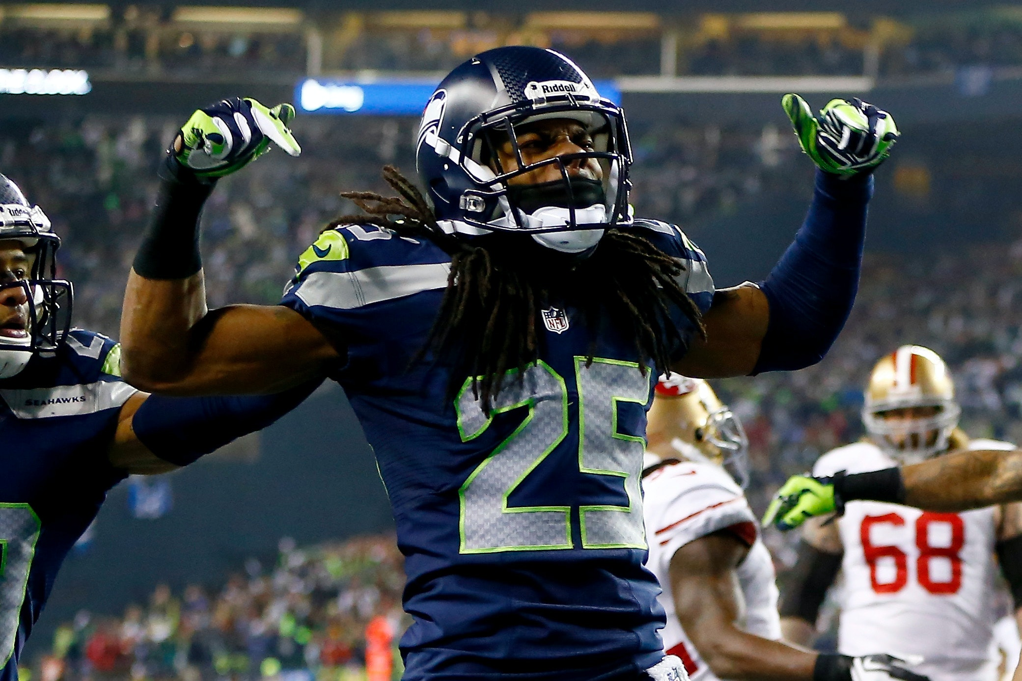 Richard Sherman Reacting To Super Bowl Loss Is Every Single