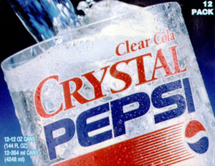 an introduction to the history of crystal pepsi A few of the different pepsi types include diet pepsi, pepsi max, pepsi one, crystal pepsi, pepsi wild cherry, etc  history it was  following the introduction .