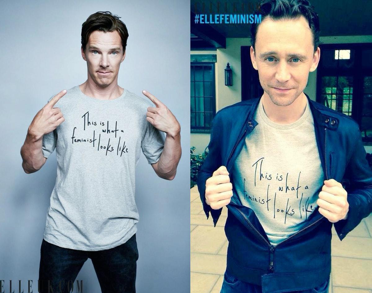 Tom hiddleston amp benedict cumberbatch are proud feminists amp these 10