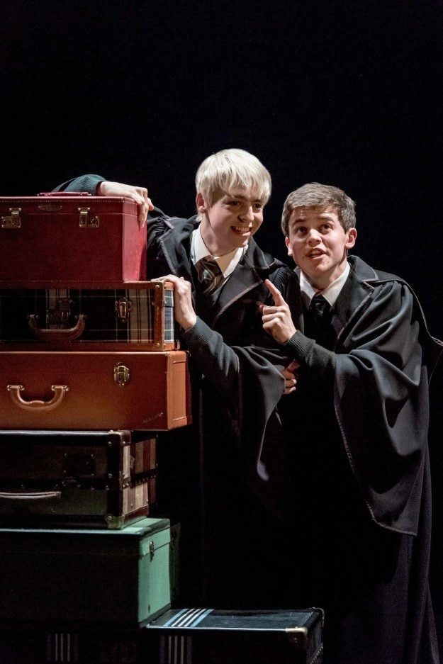 Image result for image of albus and scorpius cursed child