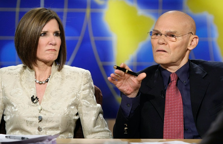 carville dating Why i can't date a liberal  as a conservative with years of dating lefties,  but one example is james carville and mary matalin.