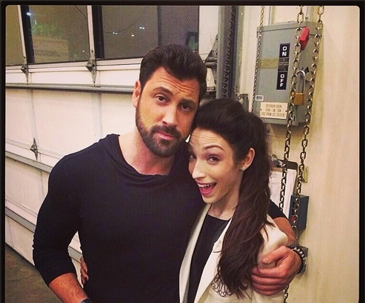 Meryl Davis Has A Boyfriend: Maksim Chmerkovskiy & Meryl Davis May Be Dating For Real