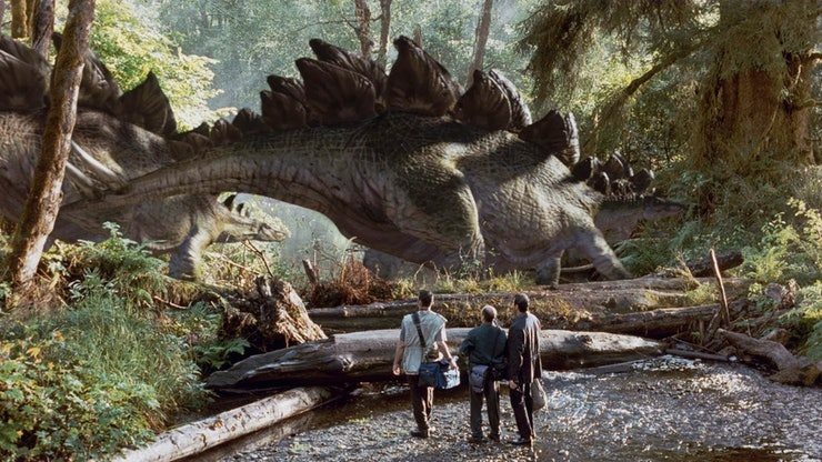 are the jurassic world dinosaurs all cgi the new movie