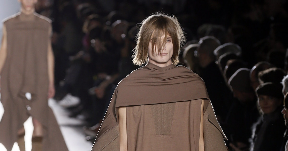 Rick Owens Explains Full-Frontal Nudity At His Menswear -7602