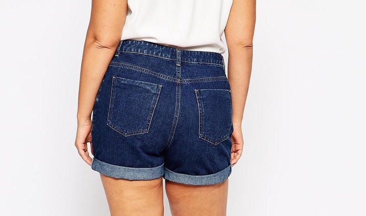 17 Denim Shorts For Big Butts Because A Little Extra -5562