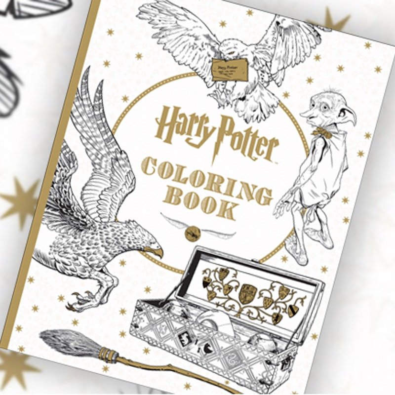 This Harry Potter Coloring Book For Grownups Is Every Bit As Magical Hogwarts PHOTOS
