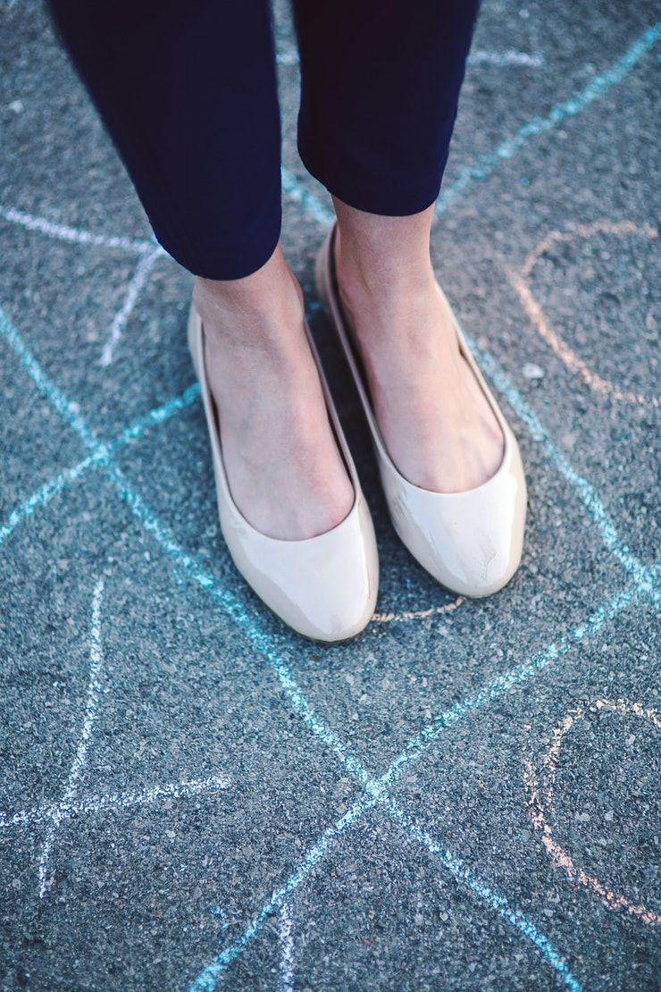 How To Prevent Blisters In Flats So You Can Walk Around ...
