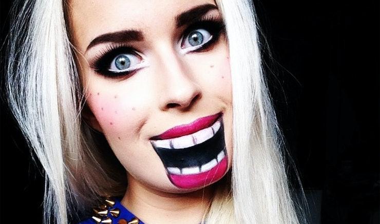 12 Creative Halloween Makeup Ideas Even Non-Beauty Vloggers Can ...