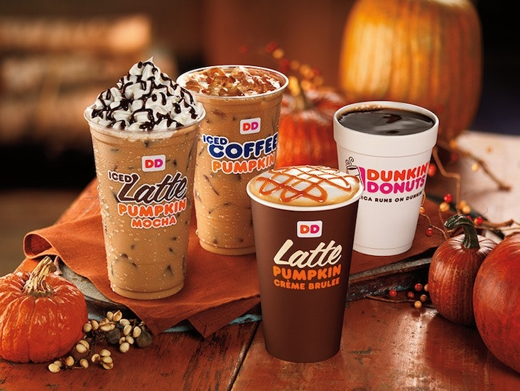 Dunkin' Donuts Fall Pumpkin Products Are In Stores TODAY, So ...