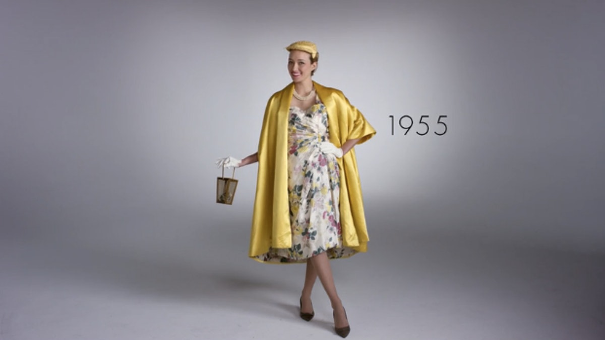Watch Quot 100 Years Of Fashion Under 2 Minutes Quot And Watch