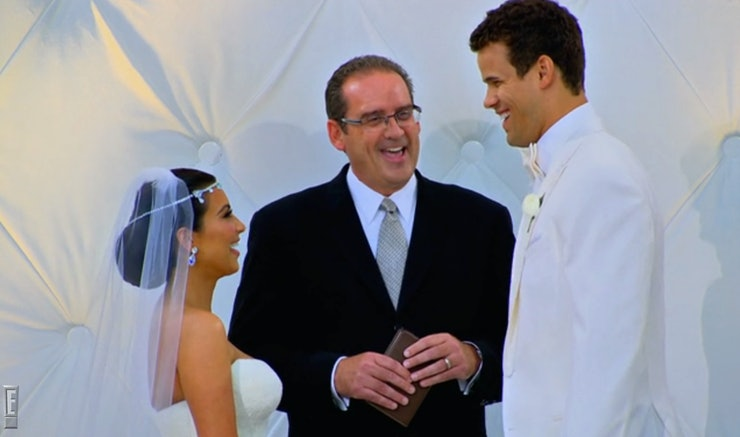 14 Times During Kim Kardashian Kris Humphries Wedding You Could Tell They Were Doomed