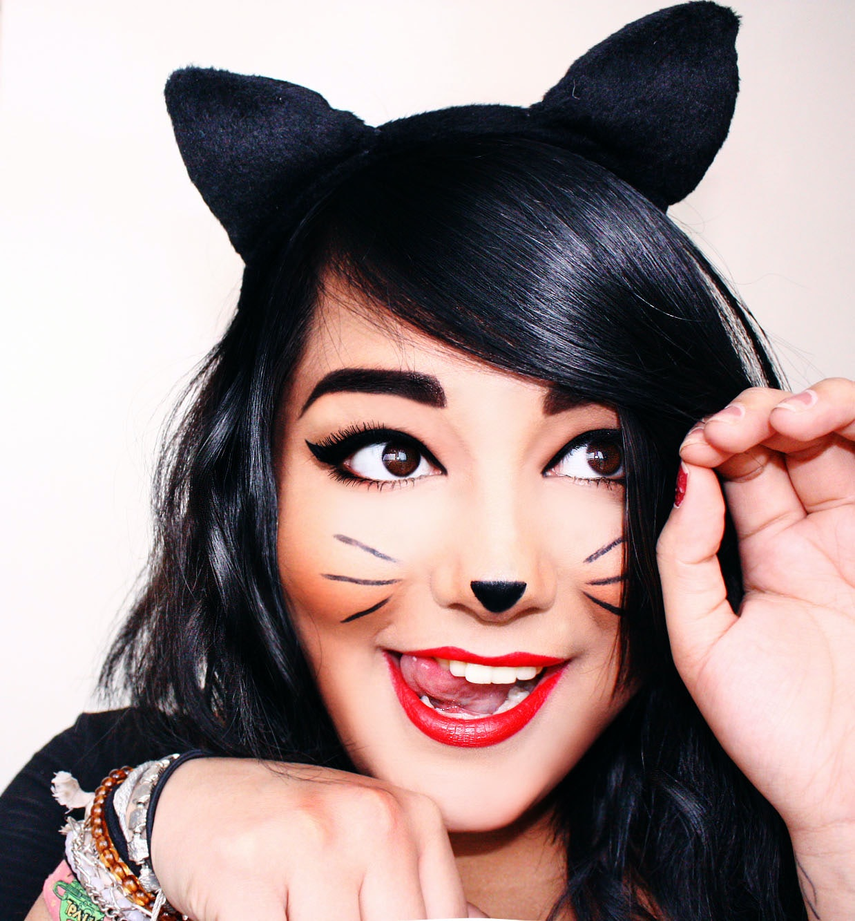 Uncategorized Cat Whiskers Face Paint 7 halloween cat costume ideas that are anything but basic
