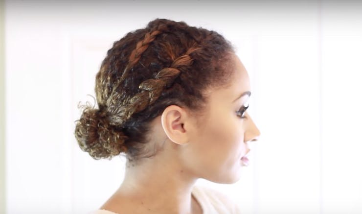 Pleasing One Step Hairstyles For Curly Ladies Who Want To Get Fancy Without Hairstyle Inspiration Daily Dogsangcom