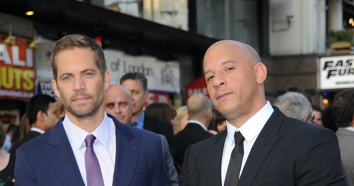 Paul Walker & Vin Diesel's 5 Best Friendship Moments