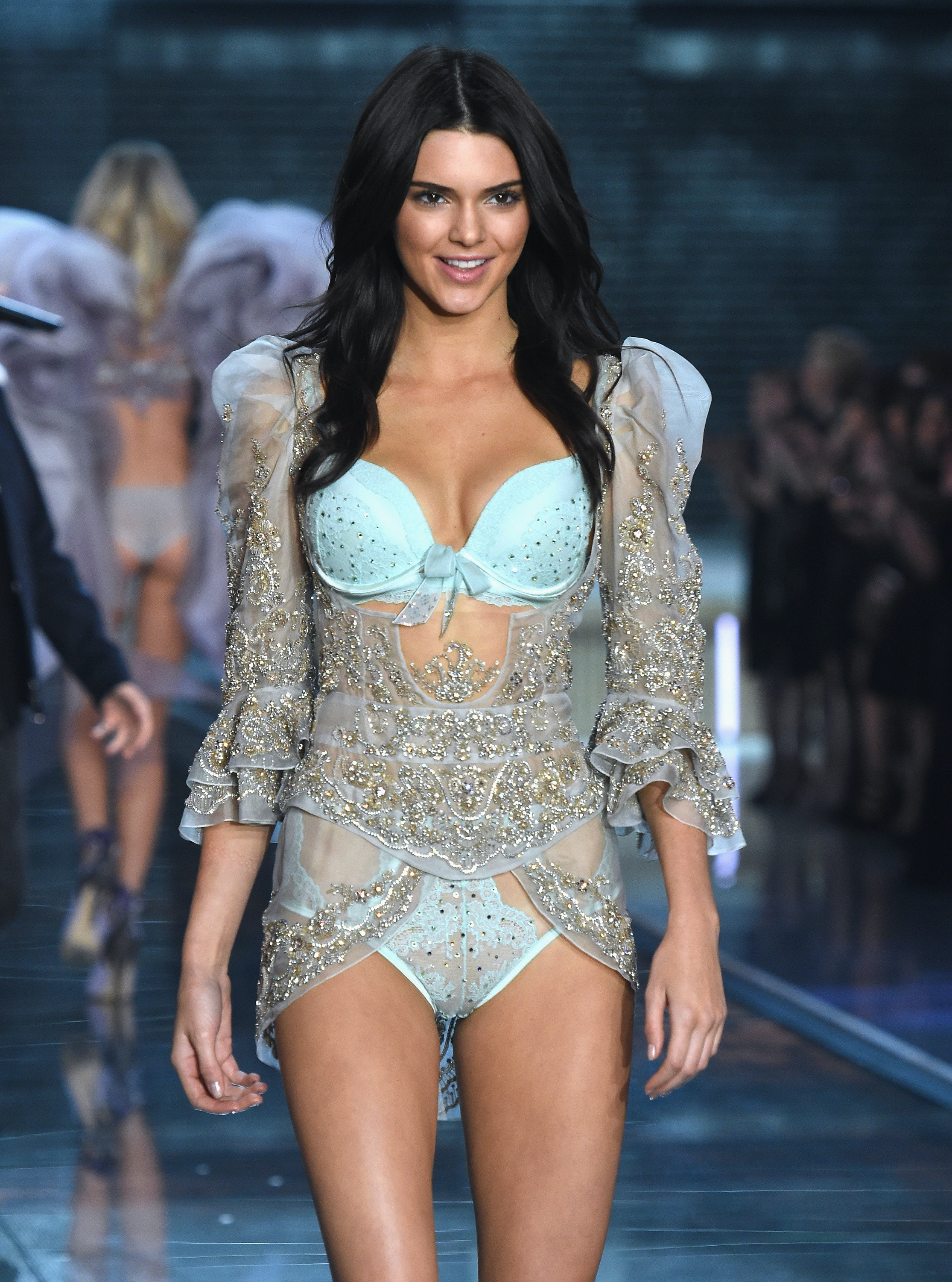 See Kendall Jenner's Victoria's Secret Fashion Show Debut From All ...