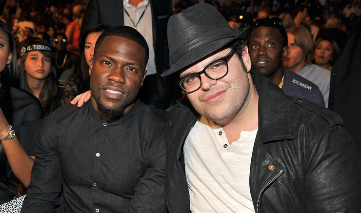 The Wedding Ringer S Kevin Hart Josh Gad Become Real Life Crashers Results Are Hilarious Video