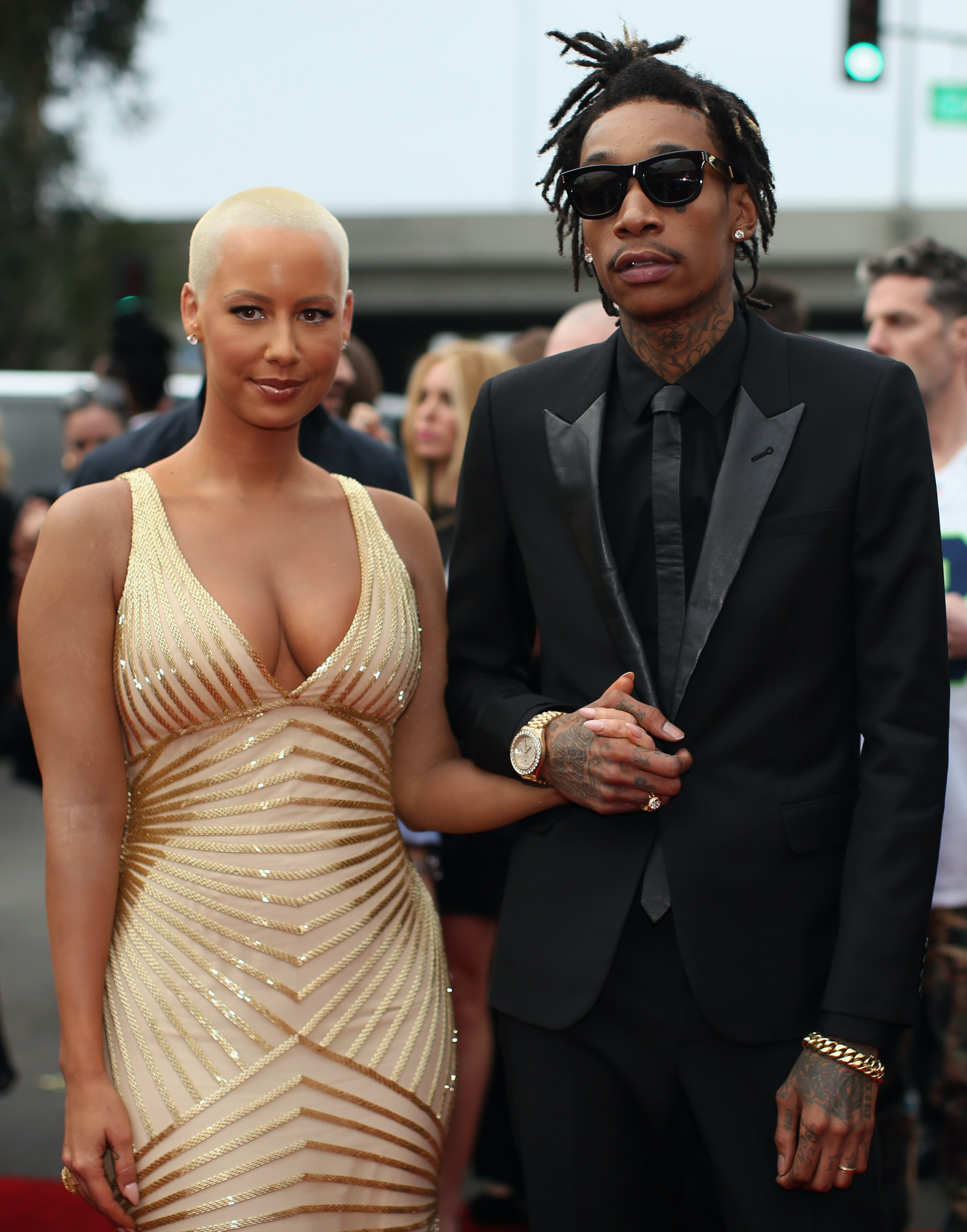 Pictures of wiz khalifa pictures of celebrities - Amber Rose Wiz Khalifa S Wedding Pictures Make It Clear They Re The Next Big Power Couple Photos