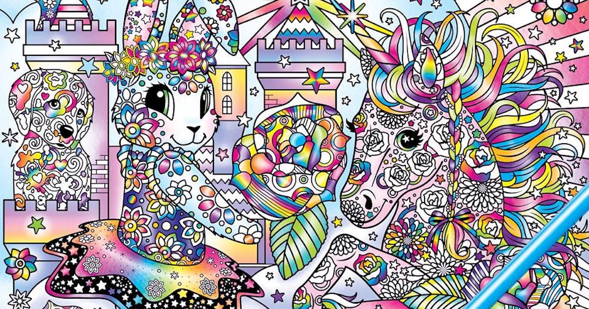 A Lisa Frank Adult Coloring Book Is Coming Soon So Break