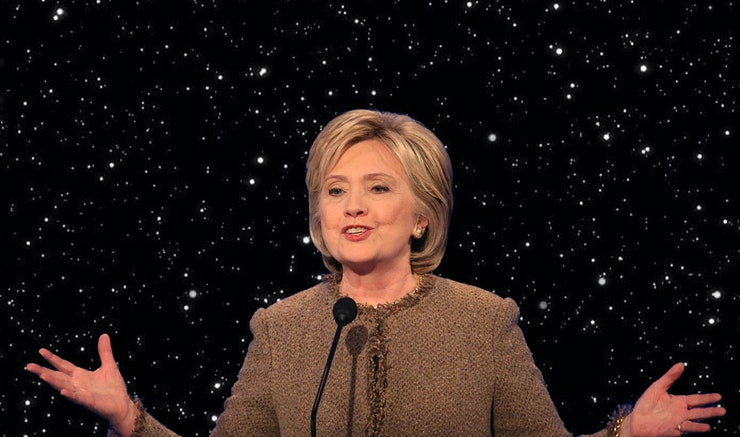 Hillary Clinton's 'Stars Wars' Quote In The Debate Has A