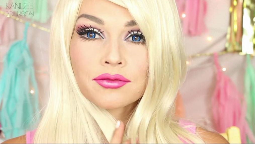 Barbie Makeup Tutorial By Kandee Johnson Shows You How To Get That ...