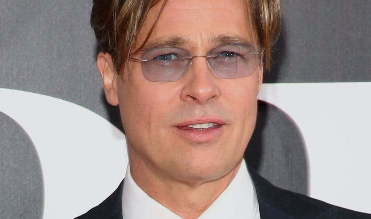 Marvelous Brad Pitts New Hair Color Makes Him Look So Much Older Which Is Short Hairstyles For Black Women Fulllsitofus