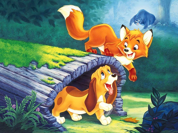 Resultado de imagen de the fox and the hound