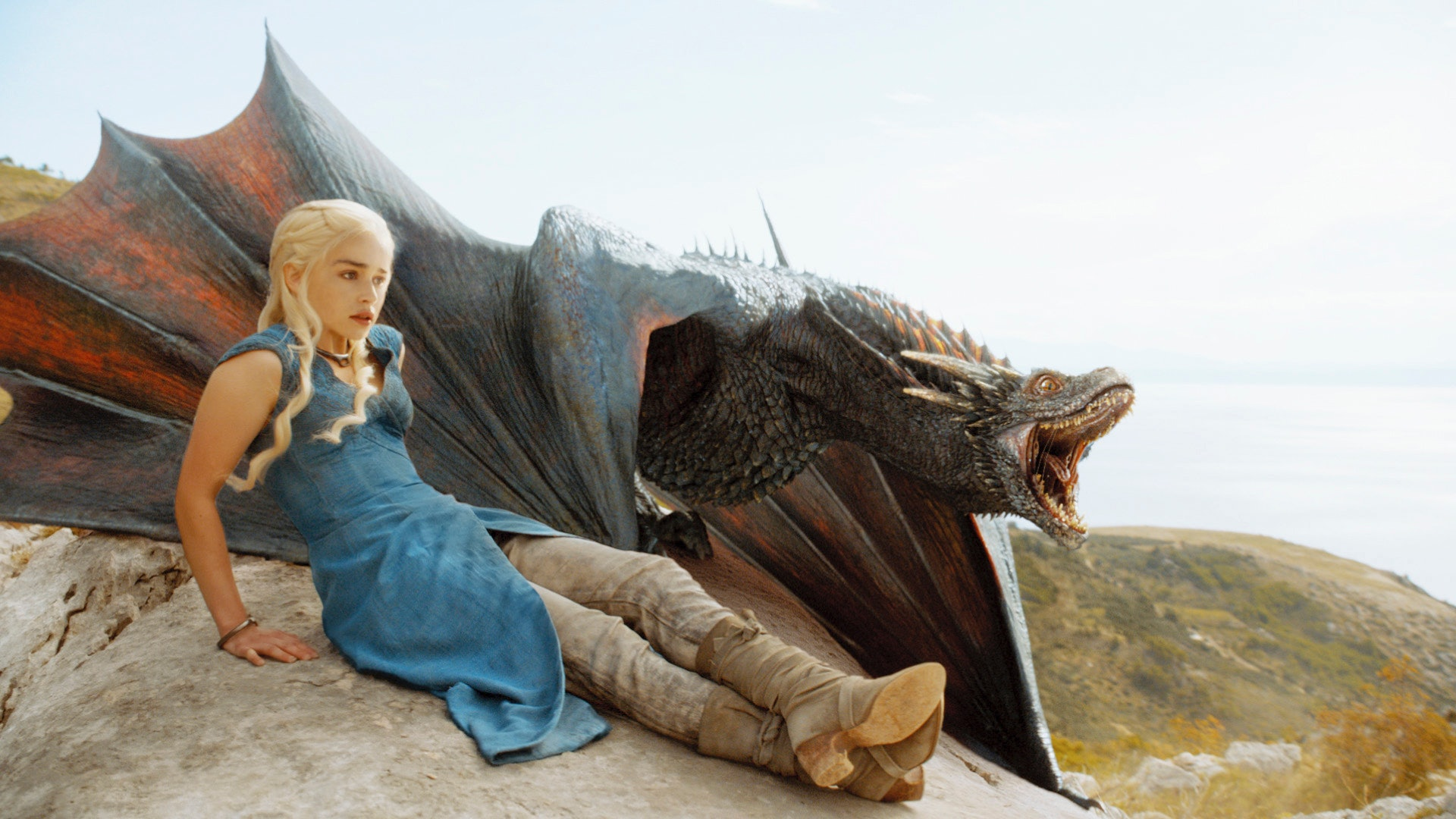 what did game of thrones daenerys name her dragons get to know the beasts before season 4