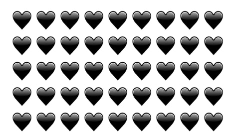 The Black Heart Emoji Is Part Of Unicode 9, And It's About To ...