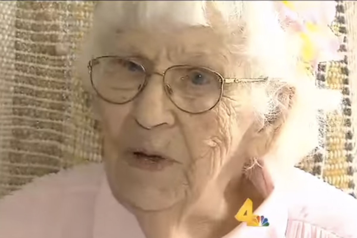94-Year-Old Woman Pays For Ad To Cross It Off Her Bucket ...