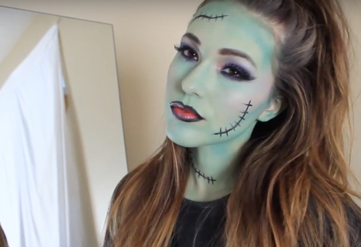 15 easy halloween makeup ideas thatu0027ll inspire you this spooky holiday u2014 videos