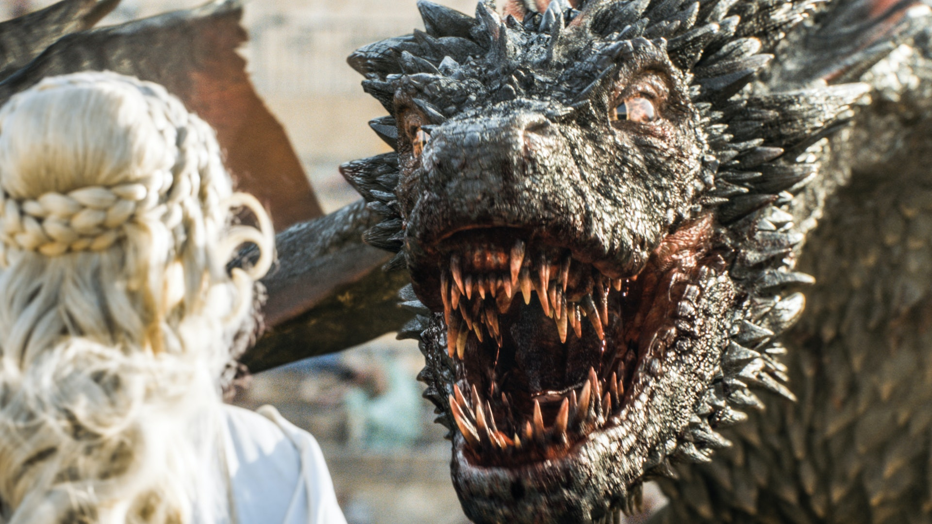 what happens to daenerys 2 other dragons on game of thrones she left their fate up the people meereen