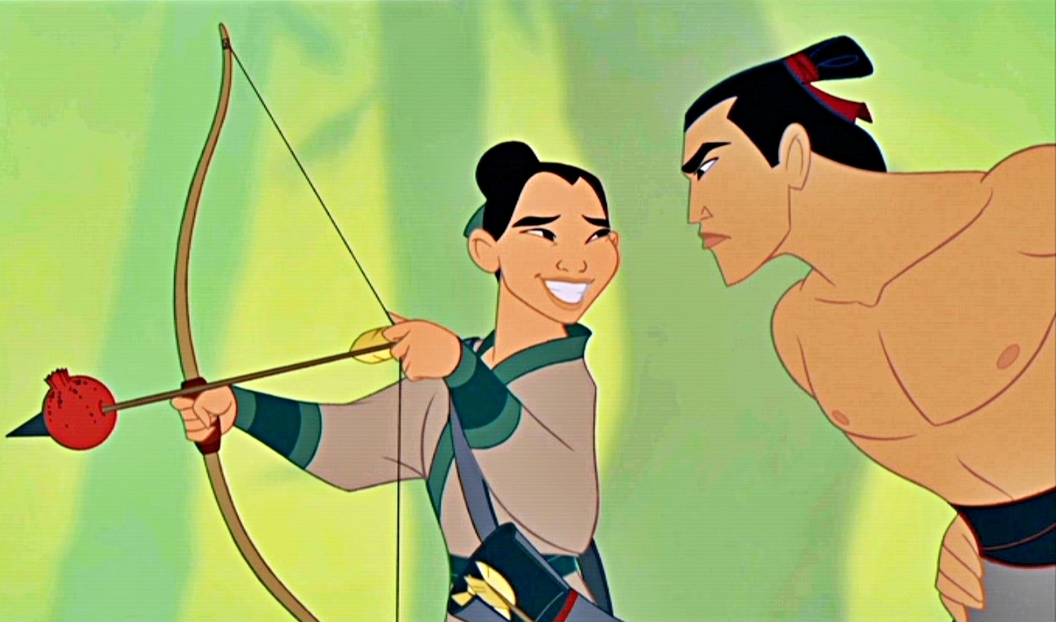 Uncategorized Mulan And Shang the mulan live action remake needs these 5 things seriously li shang better be hot