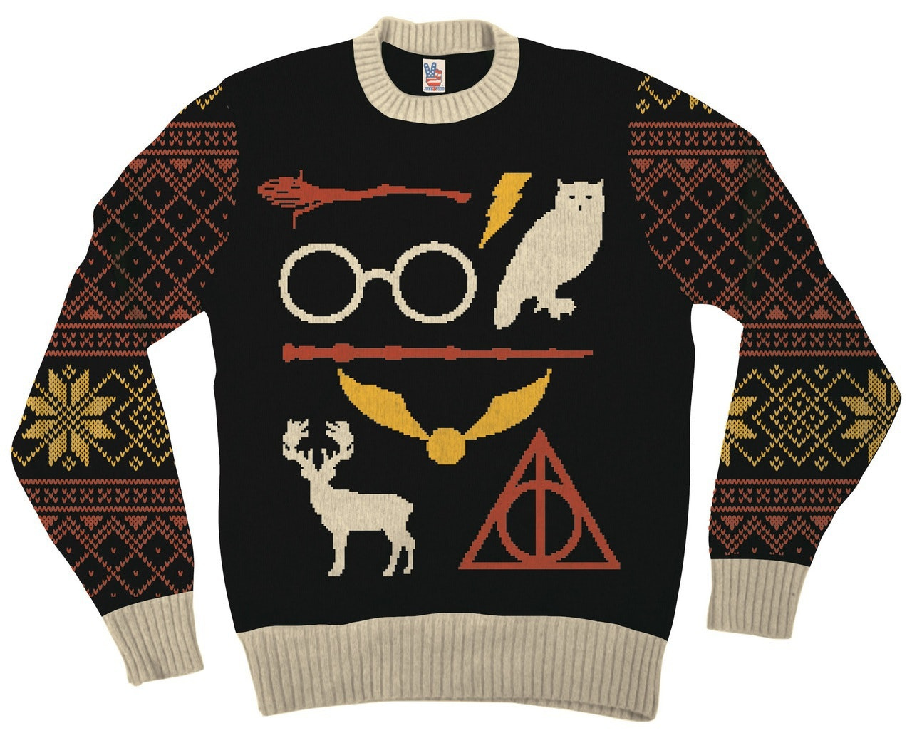 8 Harry Potter Ugly Christmas Sweaters For Your Inner Witch Or ...