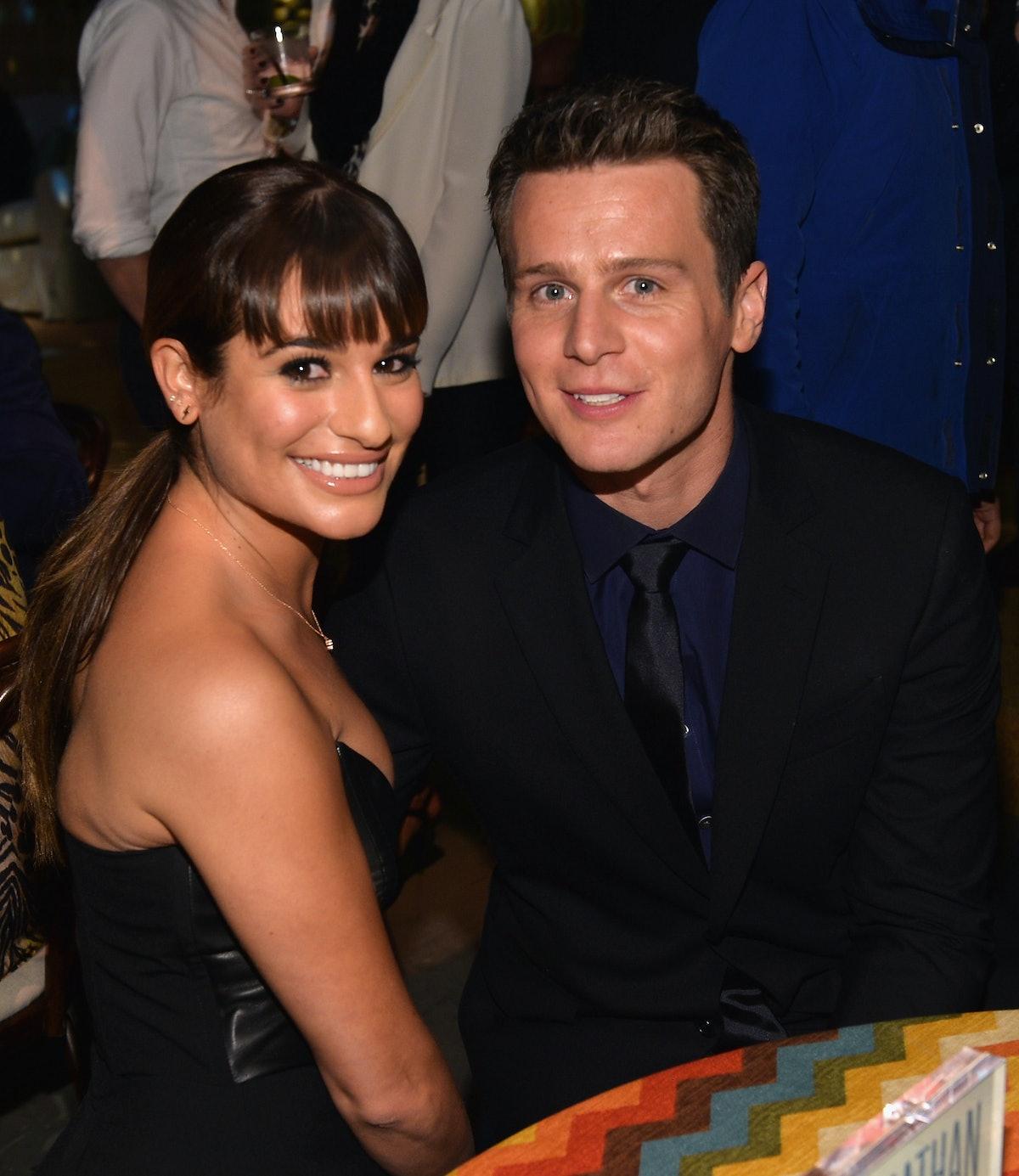 Glee actors dating