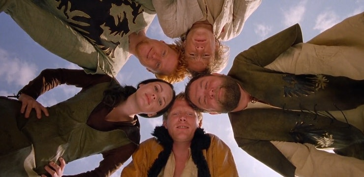 the film a knights tale I smiled, in fact, all through brian helgeland's a knight's tale,  some will say  the movie breaks tradition by telling a medieval story with a.