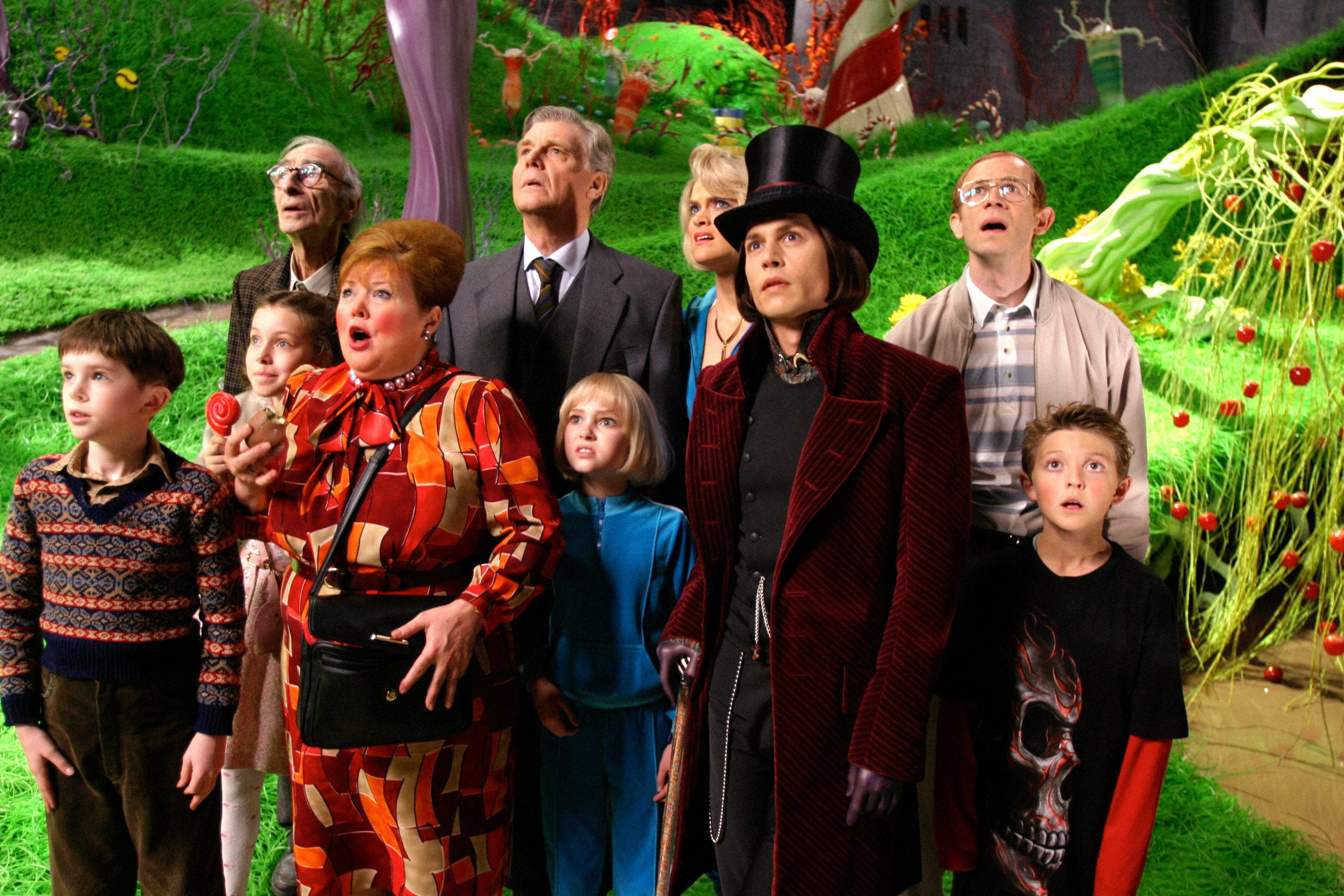 Resultado de imagem para Charlie and the Chocolate Factory film