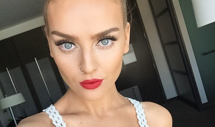Perrie edwards releases her first makeup tutorial teaches us how perrie edwards releases her first makeup tutorial teaches us how to contour video ccuart Images