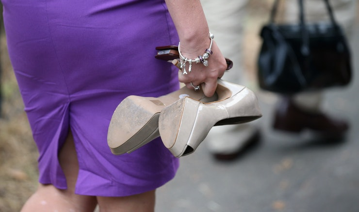 The 9 Stages Of Wearing Heels As A Tall Girl Because You ...