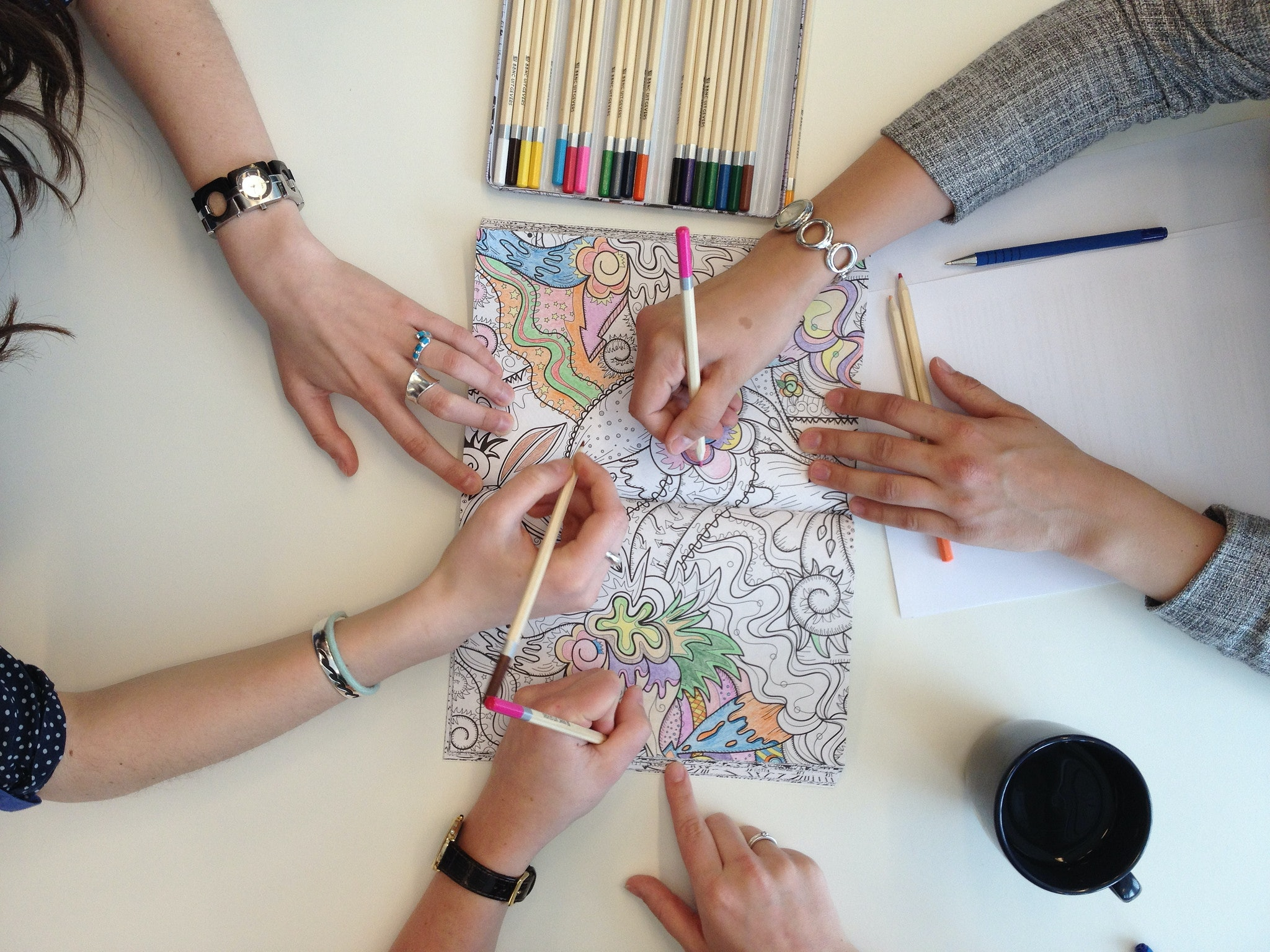 The coloring book for adults - 13 Of The Best Adult Coloring And Activity Books Because Big People Get Bored On Long Car Rides Too